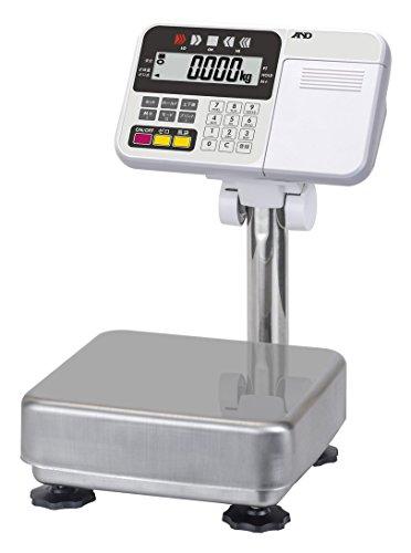 A&D 防塵・防水台はかり HW-10KC ≪ひょう量:10kg 最小表示:0.001kg 皿寸法:250(W)*250(D)mm 検定無≫