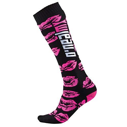 O'NEAL Unisex Socken Pro MX XOXO, Schwarz Pink, 0356X-100