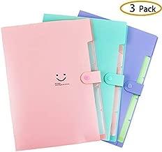 Best pastel accordion folder Reviews