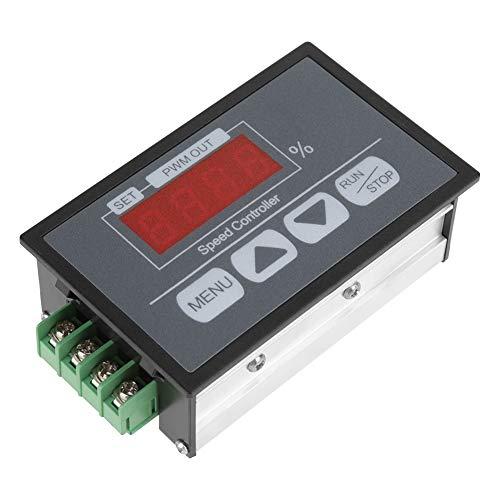 BigBig Style procentuele toerentalmeter gelijkstroommotor langzame start digitaal display en snelheidsregelaar 6-60 V