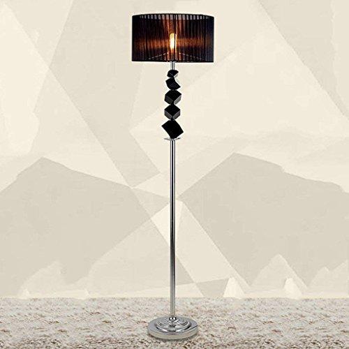 DSJ vloerlamp zwart kristallen vloerlamp moderne mode vloerlamp eenvoudige slaapkamer creatieve vloerlamp woonkamer vloerlamp