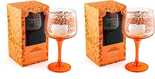 Silent Pool Gin Seltenes Citrus Gin Copa Glas – in Geschenkbox (2 Stück)