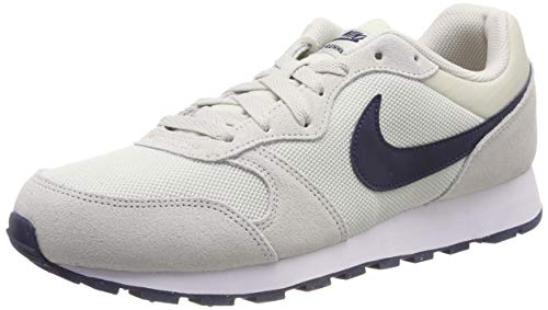 Nike MD Runner 2, Zapatillas de Running Hombre, Gris (Light Bone/Obsidian 009), 39 EU