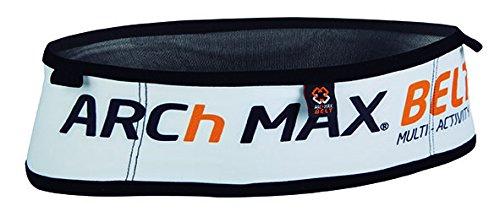 Arch Max 4505 Cinturón, Unisex Adulto, Blanco, S