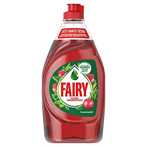 Fairy Spülmittel (450 ml) Granatapfel, mit effektiver Formel für sauberes Geschirr und Fettlösekraft