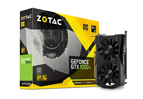 Zotac GeForce GTX 1050 Ti OC Edition ZT-P10510B-10L 4GB PCI Express Graphics...