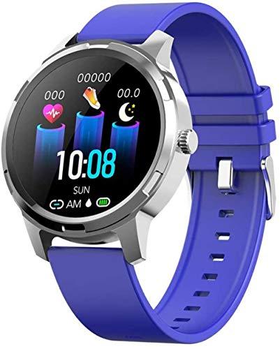 Pulsera deportiva inteligente Bluetooth 1.3 pulgadas TFT pantalla táctil calorías contador podómetro actividad tracker compatible con LOS/Android system-C