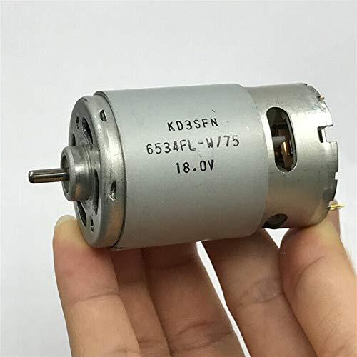 Auart Zyilei- Motor DC Motor de Alta Velocidad de Potencia RS-550, Herramienta de perforación eléctrica DIY, DC 6V 12V 18V 21000RPM, Resistente al Desgaste