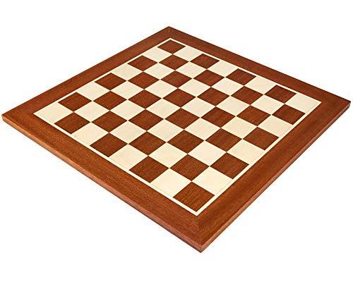 Plateau échecs bois incrusté 40cm n°4