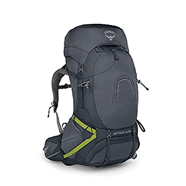 Osprey Packs Pack Atmos Ag 65 Backpack, Abyss Grey, Small