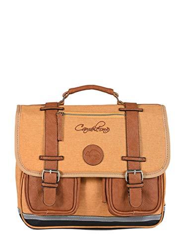 Cartable 35cm Caméléon Vintage avec 2 Compartiments -...
