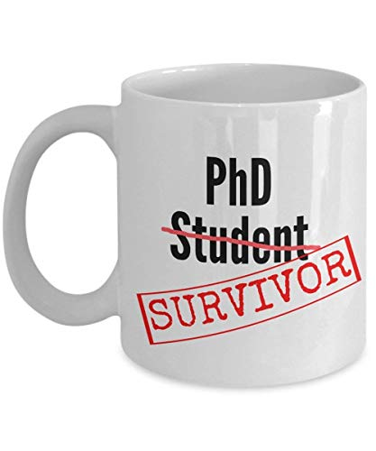 Las mejores ideas de regalos para graduados de doctorado - Phd Mug 11 oz / 11oz - Phd Comics Mug-Phd Graduation Gifts For Him-Phd Gifts For Her-Doctorate Gifts- Phd Student