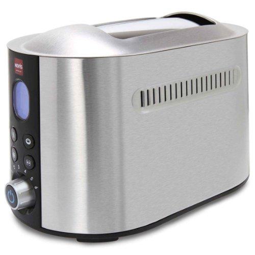 Novis 6112.21 Pro Line ECO Toaster, edelstahl gebürstet
