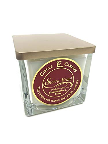 Circle E Candles Sierra Wind Scented Jar Candle | 22oz | 110 Hour Burn Time