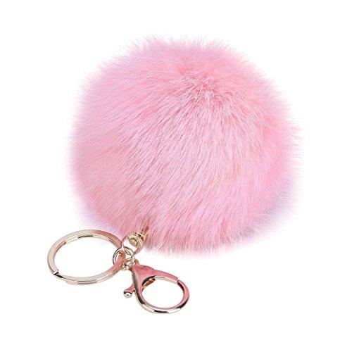 Gespout Porte-clés Alliage Hairball Femme Rose Clair Sac...