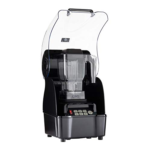 THE URBAN KITCHEN 800AQ Commercial Blender, 1200W (Black)