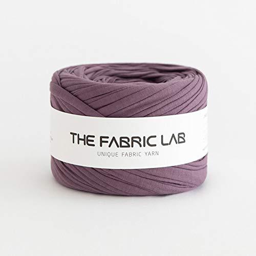 Fabric Yarn, T-Shirt Yarn, Fettuccini Zpagetti Style Knitting Yarn Ball 75M, Dusty Lavender