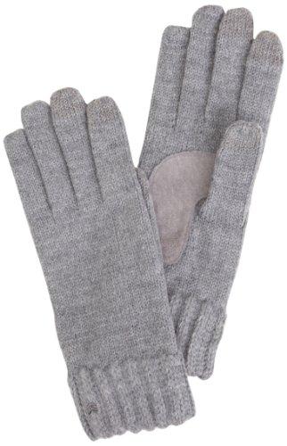isotoner Damen Handschuh - Grau - Charcoal - Einheitsgröße