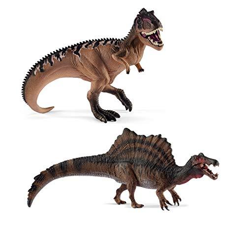 Schleich 15010 Giganotosaurus + 15009 Spinosaurus