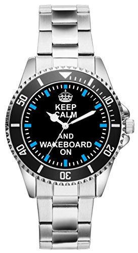Wakeboard Geschenk Artikel Idee Fan Uhr 2057