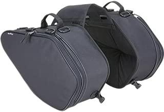 タナックス(TANAX) サイドバッグGT モトフィズ(MOTOFIZZ) ブラック MFK-135(可変容量23-31ℓ)