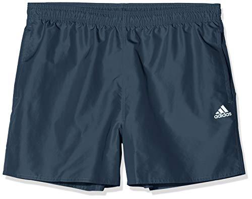 adidas Mens Solid Clx Sh Sl Board Shorts, Legacy Blue, 12