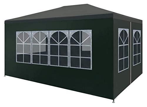 ZHENG Gazebo Plegable Carpas Plegables Tienda De Refugio De Eventos De Camping con Lados 3x4 M Verde