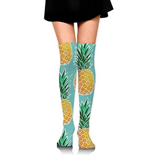 Calcetines transpirables hasta la rodilla deportivos deportivos largos de compresión antideslizantes