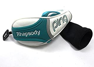Ping 2015 Rhapsody Hybrid Headcover 5 Tag Hyb White & Tropic Head Cover