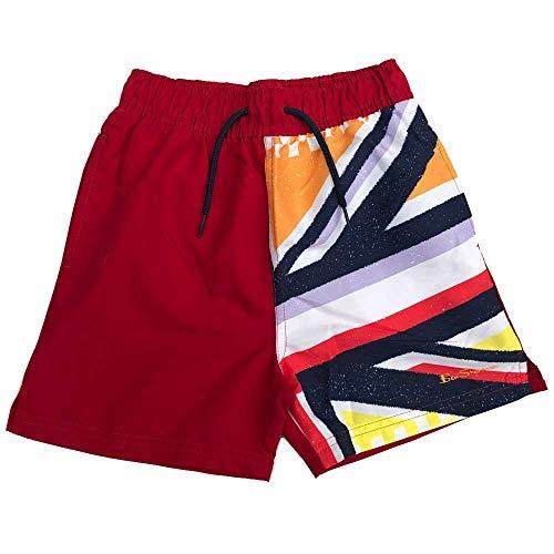 Ben Sherman Jungen Schwimm Shorts Morgendämmerung Rot Union Jack Ages 7 Jahre - 15 Jahre - Morgendämmerung Rot, 7-8 Jahre /122-128cm