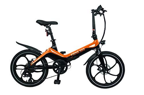 Blaupunkt FIENE 500 | Falt-E-Bike, Designbike, Klapprad, StVZO, 20 Zoll, leicht, Klapprad, Faltrad, e-bike, kompakt, E-Falt Bike