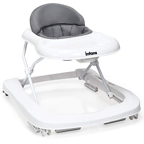 INFANS Foldable Baby Walker for Boys & Girls