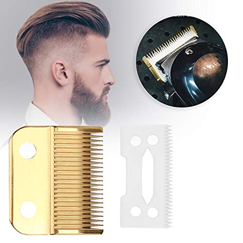 AMONIDA Whal Blade Set 2 Electric Hair Trimmer Blade Electric Hair Clipper Accessory Hair for Home Use for Beauty Place for Barbershop Professional Us