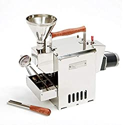 commercial KALDI Home Coffee Roaster Motorized Type Complete Package Includes Thermometer, Funnel, Probe, etc. coffee roasters