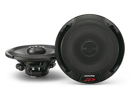 Alpine Spr-60 6.5-Inch 2 Way Pair of Car Speakers