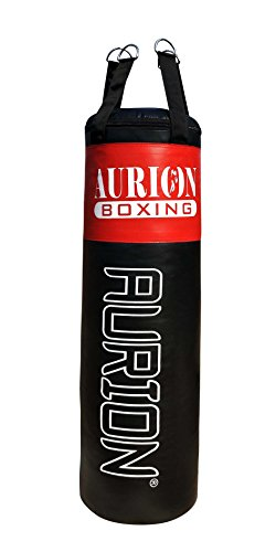 AURION 2525 FILLED PUNCHING BAG 5 FEET Strong Punching Bag...