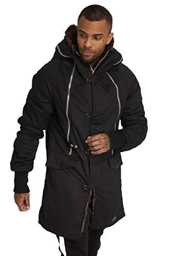 VSCT Clubwear Herren Winterjacken Double-Zipper Huge Luxury schwarz M