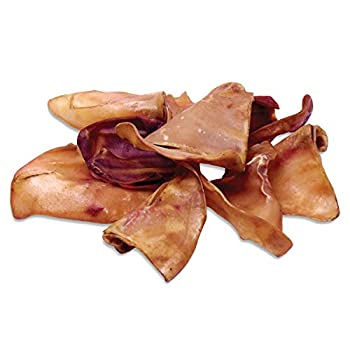 Norpur Pig Ears Dog Treats  100-Pack  Natural Healthy Training Snack | Meaty Protein Oven-Baked Flavor | Promote Dental Health | Made in Canada