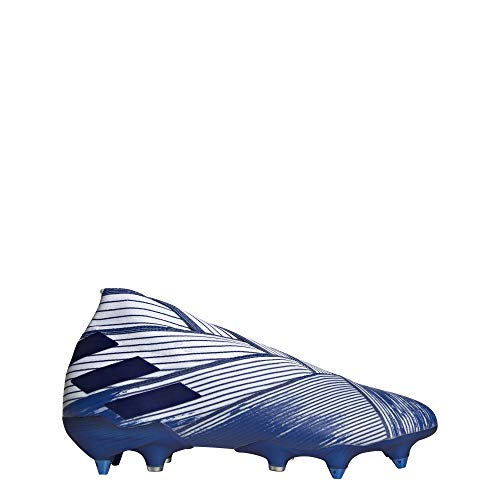 adidas Nemeziz 19+ Soft Ground, Zapatillas de fútbol Hombre, Ftwwht/Royblu/Royblu, 39 1/3 EU