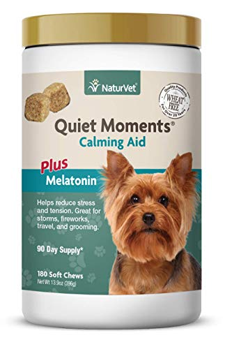 NaturVet – Quiet Moments Calming Aid for Dogs -...