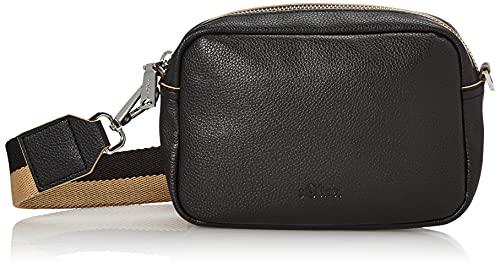 s.Oliver (Bags Damen 201.10.105.30.300.2100630 Umhängetasche, Black, 1