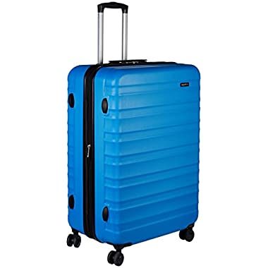 AmazonBasics Hardside Spinner Luggage - 28-inch, Light Blue