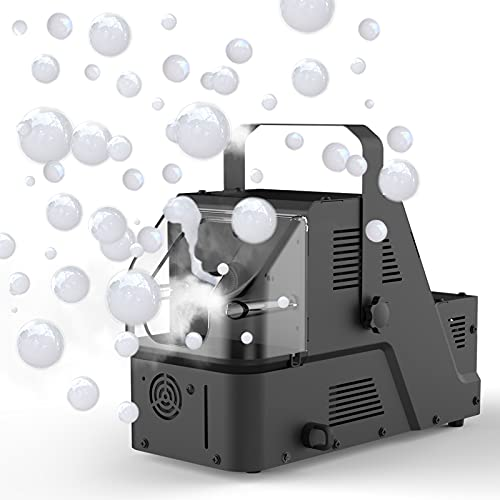 Fog Bubble Machine, 1byone 450W High Output Fog Bubble Maker Great Machine for Christmas Wedding Party