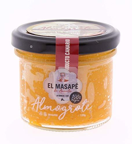 Almogrote gomero EL MASAPÉ 125 gr. Producto Islas Canarias.