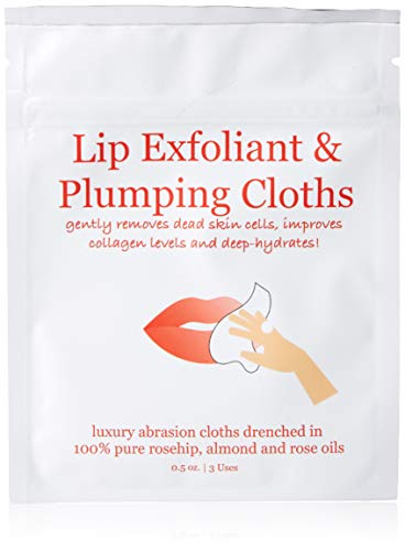 Lip Exfoliant and Plumping Cloths