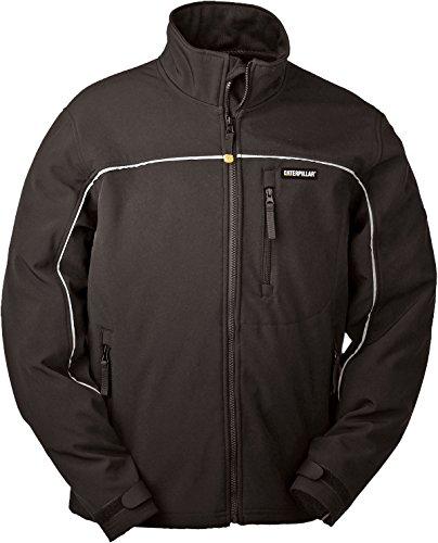 Soft Shell Jacke warm, schwarz, 2XL