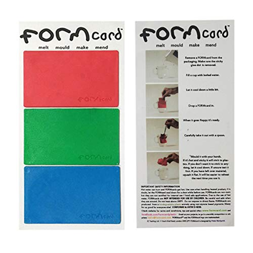 FORMcard Shapeable Card Magic Patch Sticker Universal Repair Tool Any Shape Can Be DIY and Can Be Recycled 3 PCS