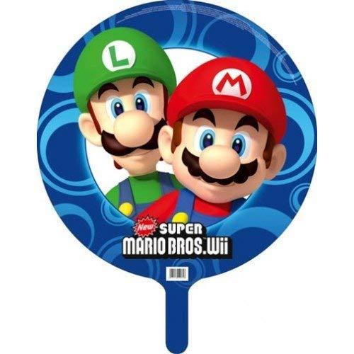 Super Mario Bros Wii Party 45cm Folien Ballon Ohne Aufschrift