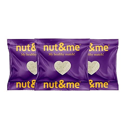 Harina de Coco 1,2 Kg nut&me | sin gluten, sin aditivos | Saludable | Keto Dieta | Sin refinar | Vegana | Reposteria | Pack 3x400 gramos