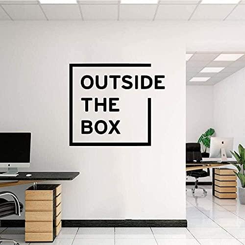 Producto de entrega caja exterior habitación de los niños sala de estar decoración del hogar decoración del hogar arte de la pared pegatinas de pared 57X65cm